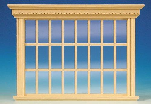MiniMundus Patrizier Atelierfenster für das Puppenhaus