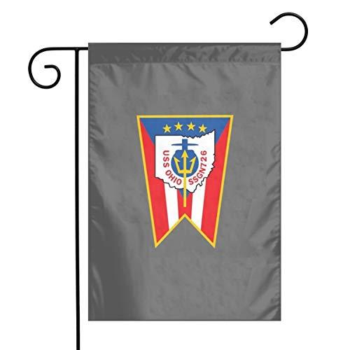 WUDAYI - Bandera de los submarinos de la Marina Ssgn 726 Uss Ohio, banderas