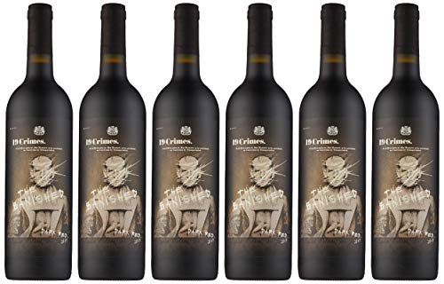 19 Crimes 'The Banished' Dark Syrah, red wine 75cl, (Case of 6)