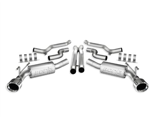 Borla 140356 ATAK Stainless Steel Aggressive Cat-Back Exhaust System