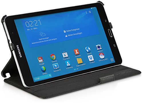 StilGut Custodia per Samsung Galaxy TabPRO 8.4 con Funzione di Supporto, Nero