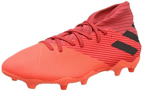 adidas Nemeziz 19.3 FG, Zapatillas de fútbol Hombre, CORSEN/NEGBÁS/ROJGLO, 44 EU