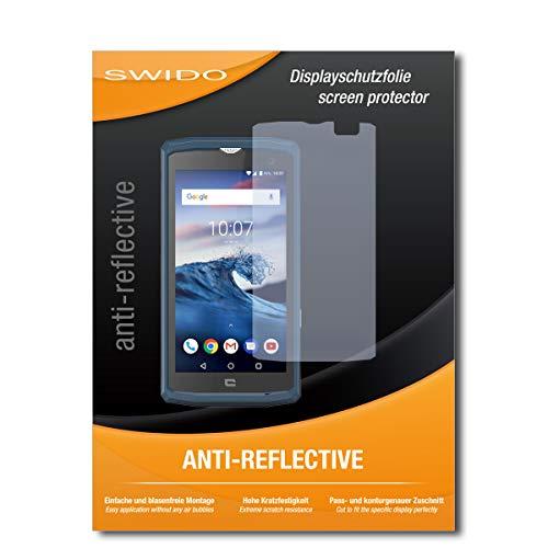 SWIDO Bildschirmschutz für Crosscall Core-X3 [4 Stück] Anti-Reflex MATT Entspiegelnd, Hoher Festigkeitgrad, Schutz vor Kratzer/Glasfolie, Schutzfolie, Bildschirmschutzfolie, Panzerglas Folie