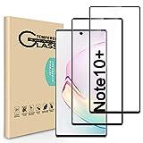 Seinal Panzerglas Schutzfolie kompatibel mit Samsung Galaxy Note 10+/Plus (2 Stück) 3D Vollständige Abdeckung HD Screen Protector Panzerglasfolie Tempered Glass Bildschirmschutzfolie für Galaxy Note 10+