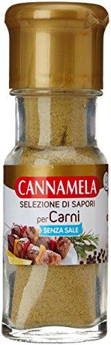Cannamela - Selezione Di Sapori, Miscela Di Spezie Ed Erbe Per Carni, Senza Sale - 18 G