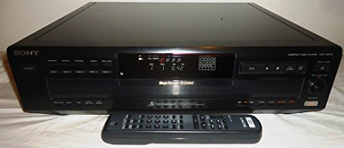 Sony CDP-CE415 5-Disc MegaStorage CD Changer