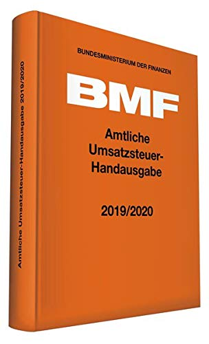 Amtliche Umsatzsteuer-Handausgabe 2019/2020 (Amtliche Handausgaben des BMF)