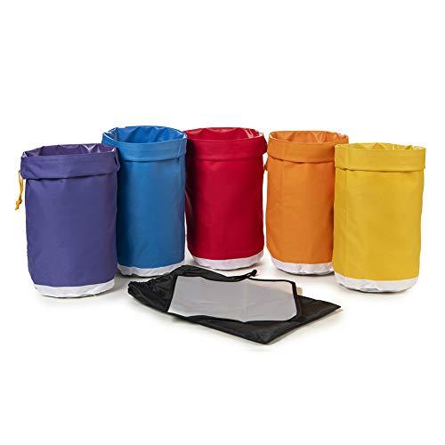 Hyindoor 4L 1 Gallon 5 Beutel Krautig Eis Bubble Bag Essenz Extractor Kit für Kräuterextraktion und Produktion von Hasch durch Eisextraktion