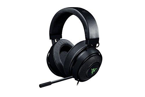 Razer Kraken 7.1 V2: 7.1 Surround Sound - Einziehbares Noise-Cancelling-Mikrofon - Leichter Aluminiumrahmen - Gaming Kopfhörer Funktioniert mit PC, PS4 / PS4 PR0 - Schwarz