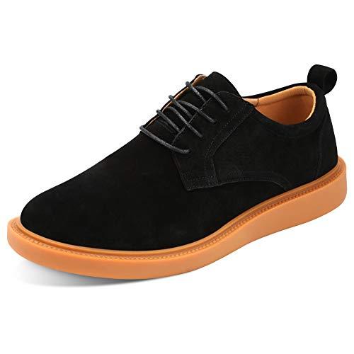 Padgene herr höstskor, andningsbara skor, herr fritidsskor (41 EU, svart)