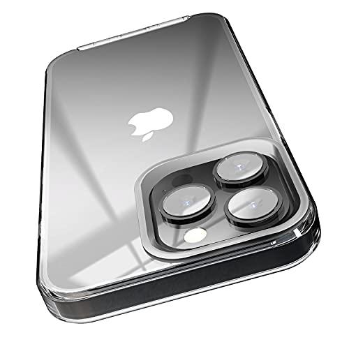 elago Ibrida Clear Custodia Cover Compatibile con iPhone 13 Pro Case (6.1') - Tecnologia Ibrida PC + TPU, Non Ingiallisce, Protezione Completa del Corpo (Trasparente)