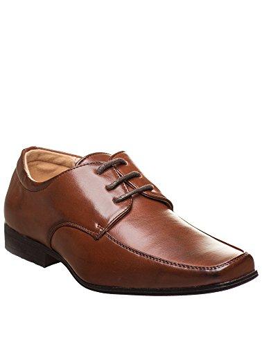 Paisley of London Elegante Schuhe, Jungen, für Hochzeit, Braun, Schuhgröße 23,5 - 36, braun - dunkelbraun - Größe: 31