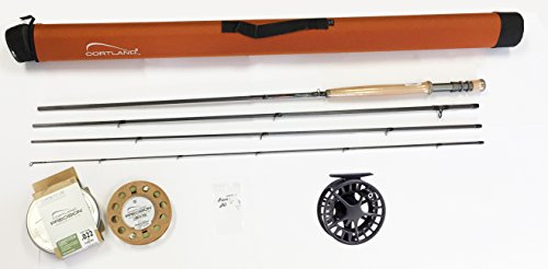 Cortland Competition Nymph Rod Complete Outfit Cortland Competition Rod Lamson Liquid Reel Matching Competition Fly Line (10 Foot 6 inch 3 Weight)