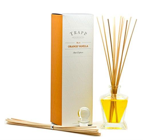 Trapp Fragrances Reed Diffuser Set, No. 4 Orange/Vanilla, 4.5 Ounce