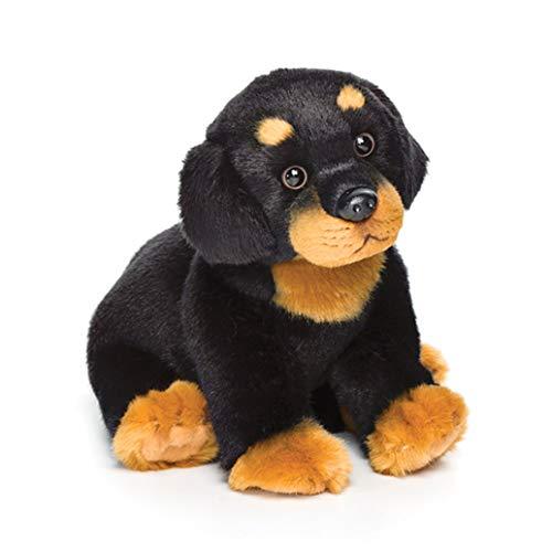 Nat and Jules Sitting Small Rottweiler Dog Children's Plush Stuffed Animal Toy