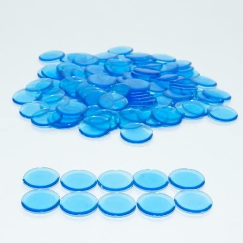 Blue Limited time sale Bingo Chips Limited price