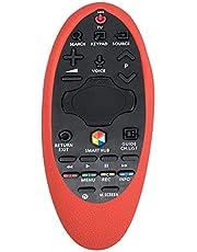 Topiky Silikonowe etui ochronne do Samsung TV BN94-07557 BN94-A07469U BN94-A55 BN94-H6400J pilot zdalnego sterowania (czerwony)