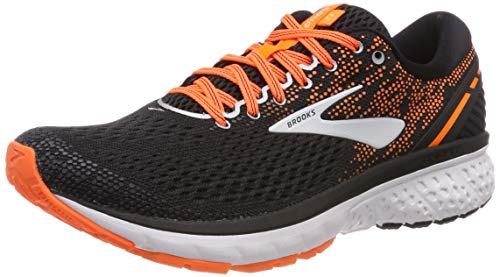 Brooks Ghost 11, Zapatillas de Running para Hombre, Multicolor (Black/Silver/Orange 093), 41 EU