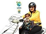 Feather Hug Kidsafe Children Motorcycle Safety Belt for Two Wheeler with Adjustable Straps