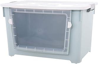 JUAN Storage Basket Laundry Basket Large Stack And Pull Storage Top Box (Color : Blue, Size : 100l)
