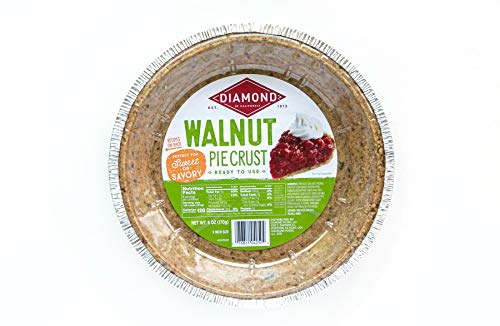 Diamond of California Pie Crust, Walnut, 6 oz, 12 Pack