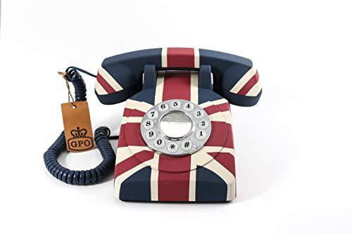 GPO Teléfono de botones con diseño Art-D...