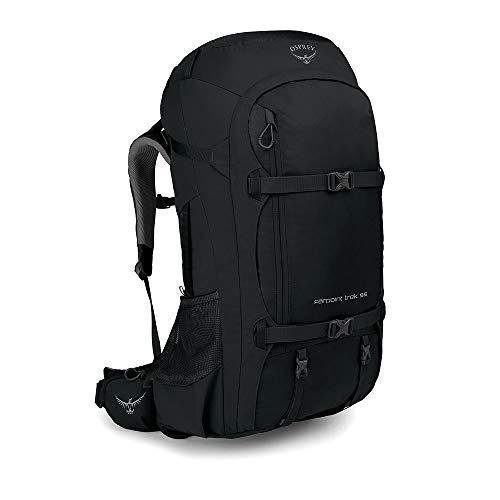 Osprey Farpoint Trek 55, Men's Travel Pack - Black O/S
