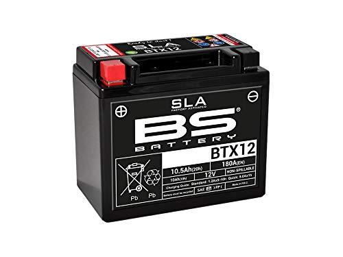 SLA BTX12 / YTX12-BS - Batteria BS 12 V/10 Ah