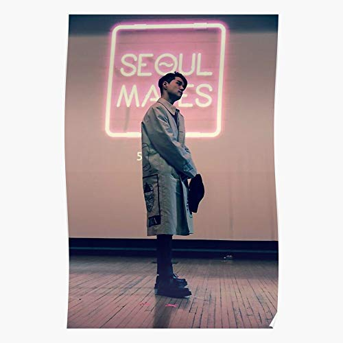 B HYUK Singer Dean Trbl Rapper Kwon Vibes Kpop Korean R | Impressive Posters for Room Decoration Printed with The Latest Modern Technology on semi-Glossy Paper Background