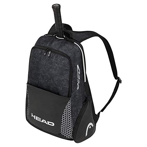 Head Djokovic Backpack, Borsa da Tennis Unisex-Adulti, BKWH Nero/Bianco, Taglia Unica
