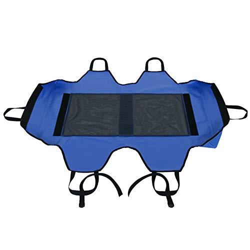 NJXM 3 Größen Erhöhen Kühl Haustier-Bett-Ersatzbezug Hundekatze-Haustier Hochbett Tragbare Raised Cot Ersatzbezug Oberflächen,Blau,Medium