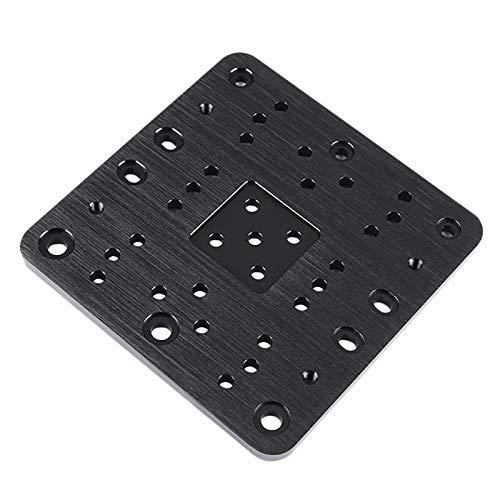 Parti della stampante 3D 1pc C-Beam Gantry Plate-Xlarge per Cnc Openbuilds e stampante 3D (Colore: nero) (Color : Black)