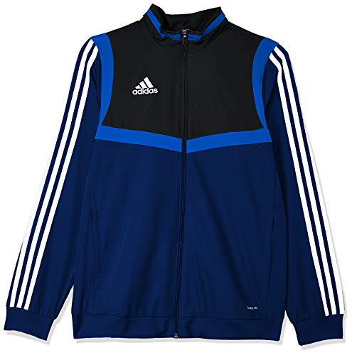 adidas Kinder TIRO19 PRE JKTY Sport Jacket, Dark Blue/Black/White, 1516