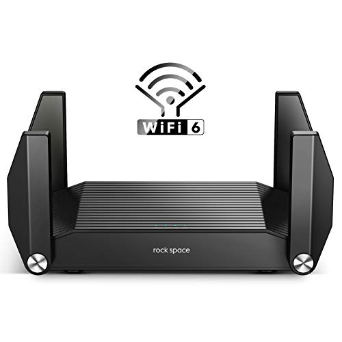 WiFi Router - Routers for Wireless Internet, Computer Routers, Gaming Router, WiFi 6 Router, AX1800, Wireless Router, MU-MIMO, OFDMA, Gigabit WAN/LAN Ports, USB 3.0, WPS, IPv6, 4K Video Streaming