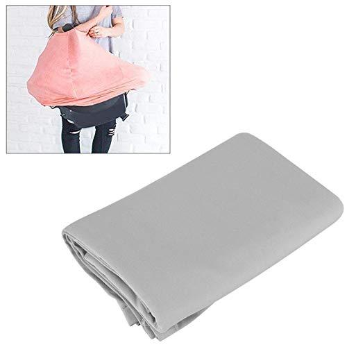 Cobertor de alimentación, Cobertor de lactancia, para mujeres lactantes para el calor y el viento del verano(gray)