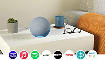 All-new Echo (4th Gen) | With premium sound, smart home hub, and Alexa