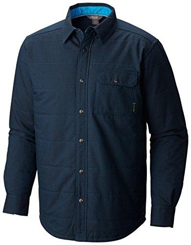 Mountain Hardwear Uomo Yuba-Pass-Maglia in Pile, Modello: Phoenix-Camicia/Giacca da Lavoro Uomo, Taglia XL, Blu