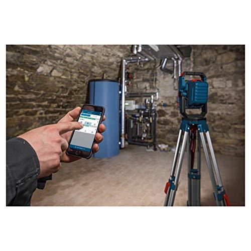 Bosch Professional 18V System Akku LED Baustellenlampe GLI 18V-2200 C (max. Helligkeit 2200 Lumen, Connect Ready, ohne Akkus und Ladegerät, im Karton)