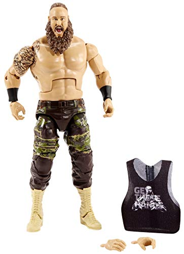 WWE Braun Strowman Top Picks 6-inch Action Figures with Articulation & Life-Like Detail