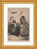 Kunstdruck P0243 - Pandereta de flamenco enmarcada