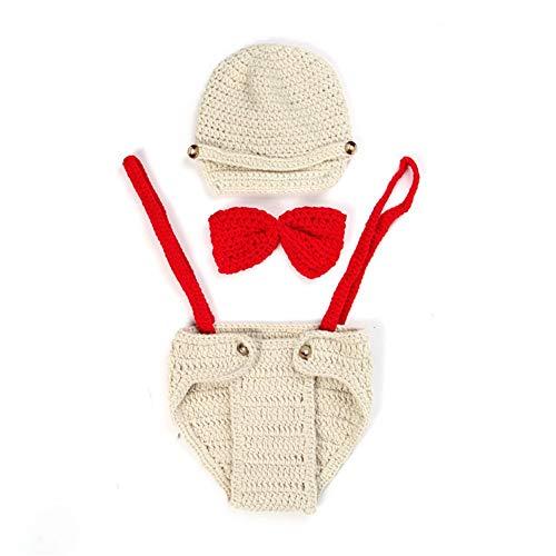 KANGJIABAOBAO Baby Fotografie Kleding Pasgeboren Baby Jongens/Meisjes Gehaakte Kostuum Fotografie Prop Multi-color Optionele Baby Fotografie Props