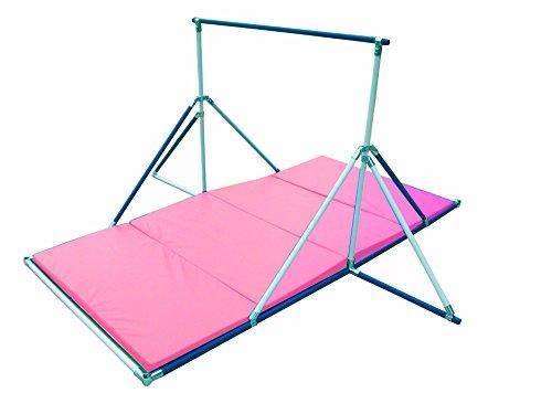 Gymnastics Bar - Gymnastics Mat Combo Pink