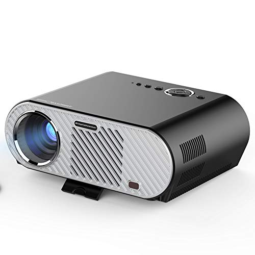 Yuzhijie The new home projector LED mini portable office business projector supports HD 1080p projection, Android wifi
