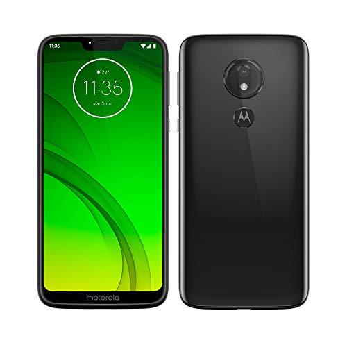 Motorola Moto G7 Power – Smartphone Android 9 (batería 5000 mah, pantalla 6.2'' HD+ Max Vision, camaras 12MP y 8MP, 4GB RAM, 64 GB, Dual SIM, color negro [Version española]