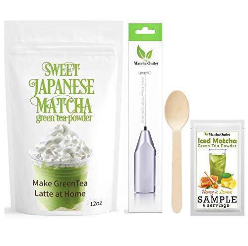 Sweet Japanese Matcha 12oz items
