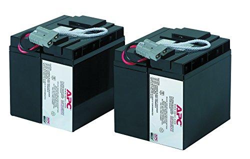 APC UPS Battery Replacement, RBC55, for APC Smart-UPS Models SMT2200,...