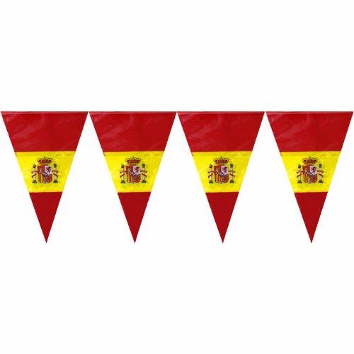 PARTY DISCOUNT Wimpelkette Spanien, 5m