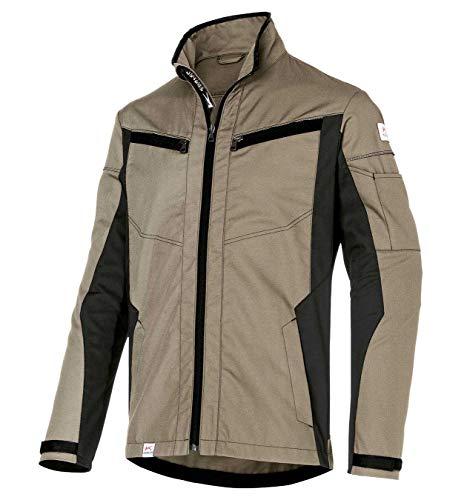 KÜBLER INNOVATIQ Jacke, Farbe: Sandbraun/Schwarz, Größe: XXL