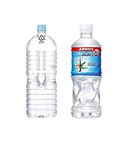 【セット買い】#like アサヒ おいしい水 天然水 ラベルレスボトル 2L×9本 + アサヒ おいしい水 天然水 長期保存水 500ml ×24本