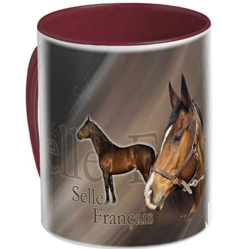 Pets-easy Tasse cheval selle français